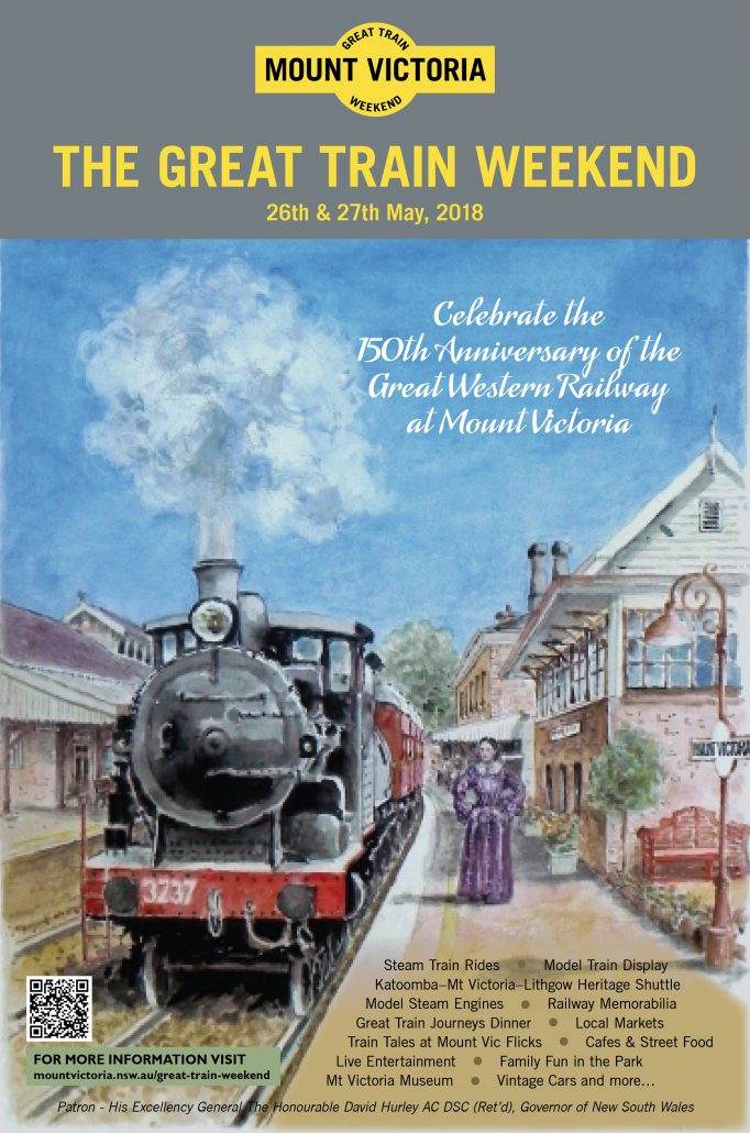 Great Train Weekend 2018 Poster